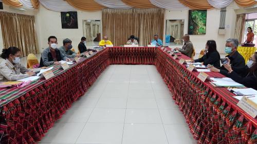 ประชุมคณะอนุกรรมการอนุรักษ์สิ่งแวดล้อมธรรมชาติและศิลปกรรมท้องถิ่นประจำจังหวัดบุรีรัมย์ครั้งที่1/2563