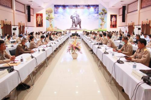 ประชุมคณะกรรมการจังหวัด หัวหน้าส่วนราชการจังหวัดบุรีรัมย์ฯ ประจำเดือนพฤศจิกายน 2563