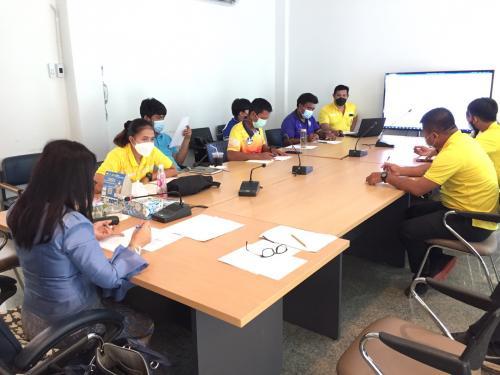 การประชุมเจ้าหน้าที่พลศึกษาประจำสำนักงานการท่องเที่ยวและกีฬาจังหวัด / ประจำอำเภอ ครั้งที่4/2564