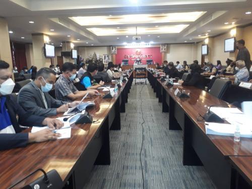 ประชุมชี้แจงในการขออนุญาตจัดการแข่งขันฟุตบอลลีกอาชีพ (ไทยลีก 3)
