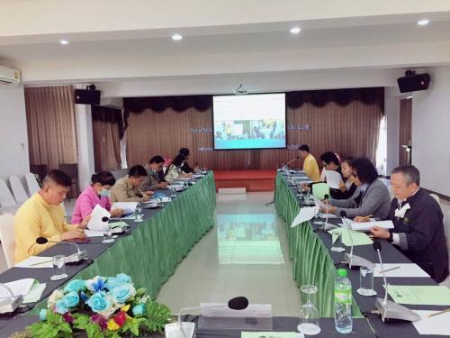 ประชุมคณะกรรมการประสานและขับเคลื่อนนโยบายสานพลังประชารัฐ ประจำจังหวัด (คสป.) ครั้งที่ 3/2563