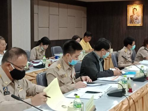 ประชุมคณะกรรมการบริหารงานจังหวัดแบบบูรณาการ(ก.บ.จ.) จังหวัดเชียงใหม่ ครั้งที่ 7/2563