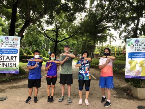 กิจกรรมวิ่ง Park run Thailand ทุกวันเสาร์