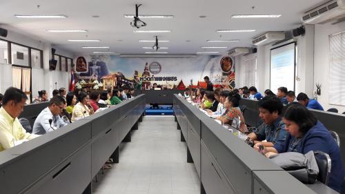 ประชุมคณะกรรมการขับเคลื่อนการท่องเที่ยวจังหวัดกำแพงเพชร ครั้งที่ 2/2561