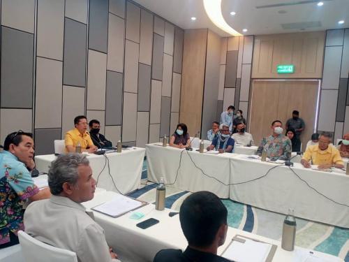 เข้าร่วมประชุมการจัดทำแผนพัฒนาและฟื้นฟูการท่องเที่ยวระยะยาว (ภูเก็ต พังงา และกระบี่)