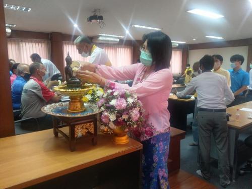 ประชุมเพื่อเตรียมความพร้อมในการเข้าร่วมการแข่งขันกีฬาและนันทนาการผู้สูงอายุแห่งประเทศไทย ครั้งที่ 14 ประจำปี 64