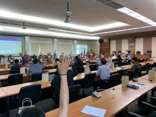 ร่วมประชุม ปรึกษาหารือการจัดการแข่งขันกีฬาและนันทนาการผู้สูงอายุแห่งประเทศไทย ครั้งที่ 14 ประจำปี 2564