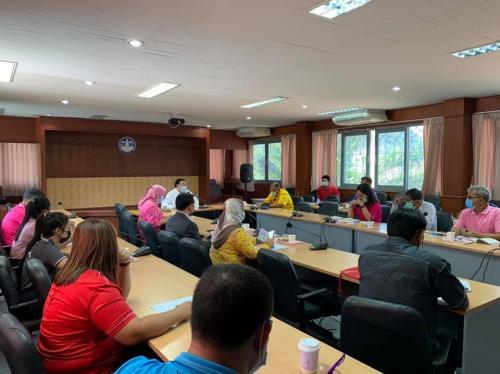 จัดประชุมเพื่อปรึกษาหารือ เตรียมการจัดการแข่งขันกีฬานักเรียน นักศึกษา เยาวชนและประชาชนจังหวัดกระบี่