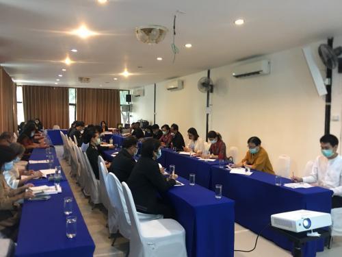 การประชุมหารือเพื่อขับเคลื่อนเป้าหมายการพัฒนาที่ยั่งยืน (SDGs) ในระดับพื้นที่ จังหวัดเลย
