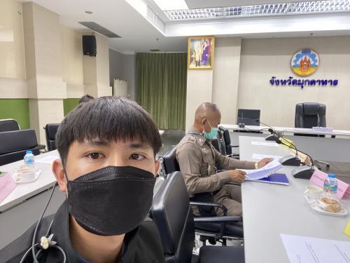 ประชุมคณะอนุกรรมการส่งเสริมคุณธรรมจังหวัดมุกดาหาร ครั้งที่ 3/2564