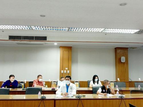 เข้าร่วมการประชุมคณะอนุกรรมการกลั่นกรองการจัดกิจกรรมที่มีการรวมกันของคนจำนวนมากจังหวัดนครพนม ครั้งที่ 15/2564