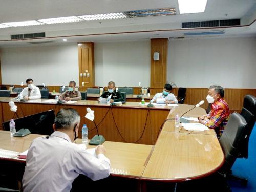 เข้าร่วมการประชุมคณะอนุกรรมการกลั่นกรองการจัดกิจกรรมที่มีการรวมกันของคนจำนวนมากจังหวัดนครพนม ครั้งที่ 16/2564