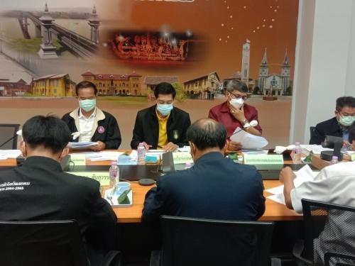 เข้าร่วมการประชุมคณะกรรมการบริหารงานกลุ่มจังหวัดแบบบูรณาการ (ก.บ.ก.) กลุ่มจังหวัดภาคตะวันออกเฉียงเหนือตอนบน 2 ครั้งที่ 4/2564