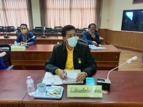 เข้าร่วมการประชุมคณะกรรมการบริหารงานจังหวัดแบบบูรณาการ (ก.บ.จ.) จังหวัดนครพนม ครั้งที่ 4/2564