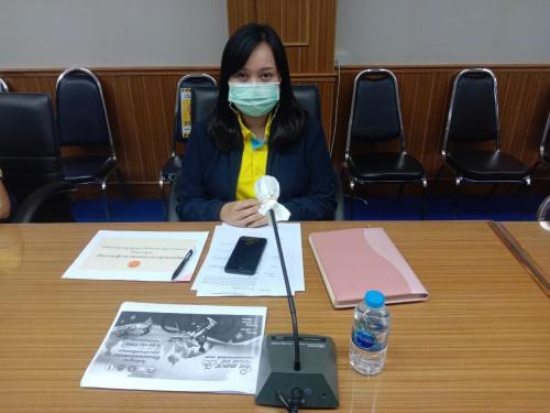 เข้าร่วมการประชุมคณะอนุกรรมการกลั่นกรองการจัดกิจกรรมที่มีการรวมกันของคนจำนวนมากจังหวัดนครพนม ครั้งที่ 23/2564