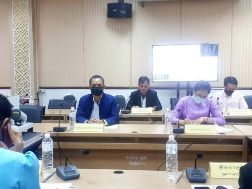 เข้าร่วมประชุมคณะอนุกรรมการบริหารกองทุนพัฒนาเอสเอ็มอีตามแนวประชารัฐ ประจำจังหวัดหนองคาย ครั้งที่ 1/2564