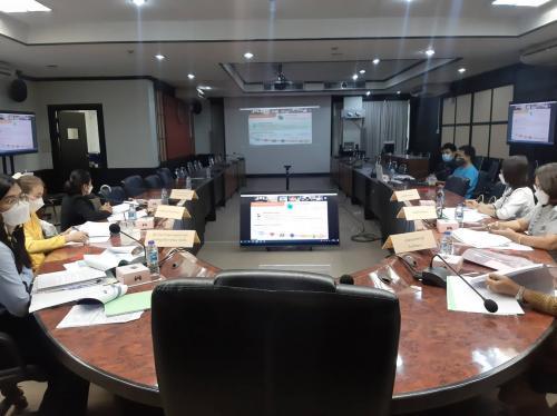 การประชุมเพื่อพิจารณาทิศทางการพัฒนากลุ่มจังหวัดภาคเหนือตอนบน ๒ (พ.ศ. ๒๕๖๖ – ๒๕๗๐) ครั้งที่ ๒ ผ่านระบบสื่อสารทางไกล Video Conference