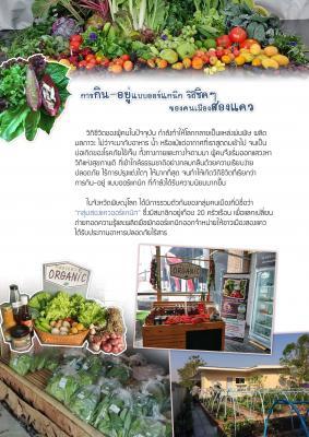 การกินอยู่แบบออร์แกนิก วิถีชิค ๆ ของคนเมืองสองแคว -Travel with 'S-H-E' Healthy Pit'Lok