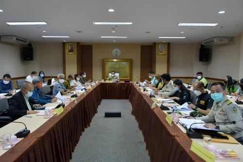การประชุมการเตรียมชี้แจงงบประมาณรายจ่ายประจำปีงบประมาณ พ.ศ.2565 ขั้นกรรมาธิการ ครั้งที่ 1/2564