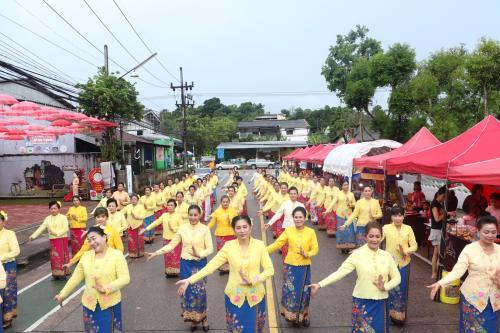 เปิดตลาดถนนคนเดินบ้านเทียนสือ ถนนสายวัฒนธรรม ทุกวันศุกร์ ณ บริเวณ ถนนดับคดี หน้าบ้านร้อยปีเทียนสือ
