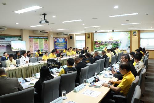 การประชุมระดมและแลกเปลี่ยนความคิดเห็น การจัดทำแผนปฏิบัติการ การพัฒนาการท่องเที่ยวในเขตพัฒนาการท่องเที่ยวฝั่งทะเลตะวันตก (Thailand Riviera ) ของนักศึกษาหลักสูตร ป.ย.ป 2 รุ่นที่ 5