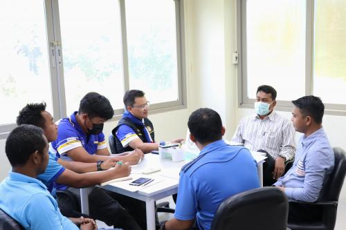 การประชุมประจำเดือนสิงหาคม ครั้งที่ 8/2563