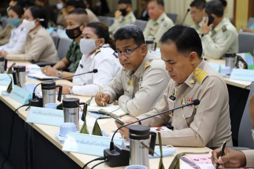 การประชุมคณะกรมการจังหวัดระนอง หัวหน้าส่วนราชการ ประจำเดือน พฤศจิกายน 2563