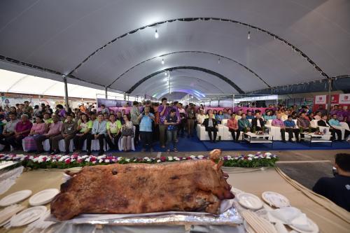 กิจกรรมตรังยุทธจักรความอร่อย หมูย่างและขนมเค้ก 6-10 กันยายน 2561 ณ ห้างสรรพสินค้า โรบินสันตรัง