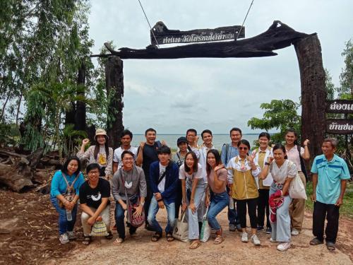 เข้าร่วมติดตามประเมินผลการพัฒนาชุมชนโดยใช้เกณฑ์การพัฒนาการท่องเที่ยวของประเทศไทย ร่วมกับสำนักพื้นที่พิเศษ2(อพท.) จังหวัดอุบลราชธานี