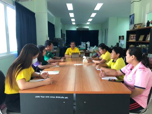 ประชุมข้าราชการ ลูกจ้าง ประจำเดือนเมษายน 2562